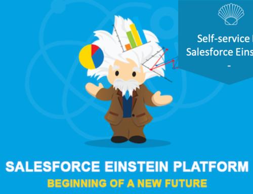 Self-service BI «Einstein Analytics» Salesforce