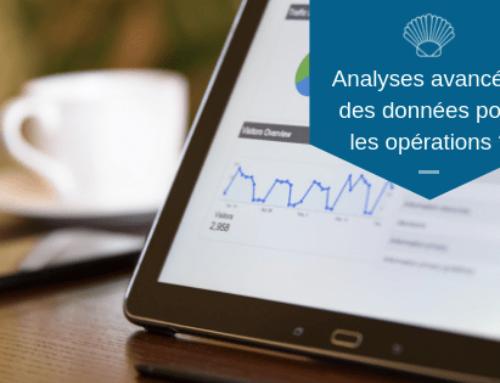 Analyses avancées des données pour les opérations?