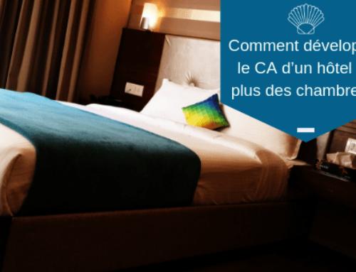 Comment développer le CA d'un hôtel en plus des chambres?